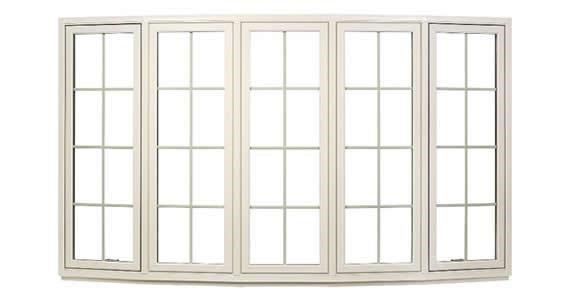 Yanish Custom Exteriors - Bow Windows